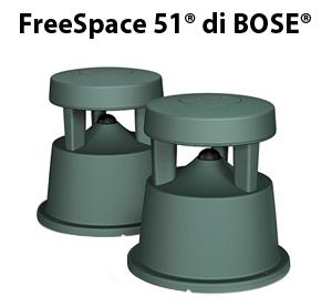 FreeSpace 51® di BOSE®