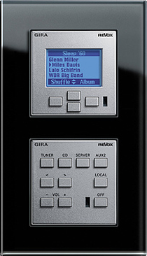 Sistema Audio Multiroom KONNEX by GIRA