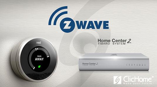 Termostato Nest e Home Center 2
