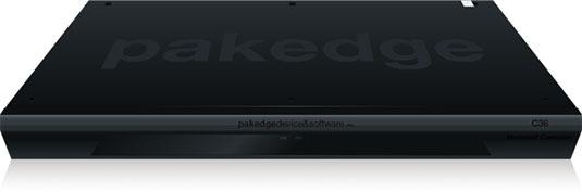 Pakedge per i contenuti video e audio attraverso la rete