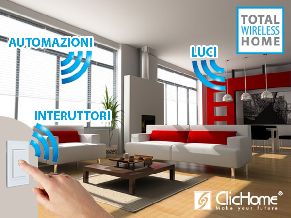 Total wireless home - domotica wireless