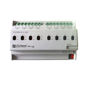 Attuatore KNX 8 canali